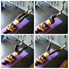 TRX Beine und Bauch