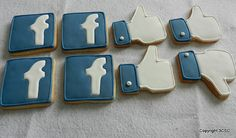 Facebook Icon Cookies. Yes, and while you're eating them, Facebook comes and swaps them for a different version of the same cookie that is less tasty and really annoying.