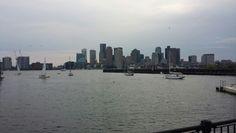 Taken from Piers Park in East Boston