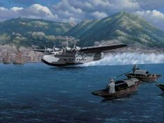 Hong Kong Clipper by Stan Stokes. (B) The Glen L. Martin Company had a long history as a designer and manufacturer of successful flying boats. The company had developed several different flying boats for the Navy, including the PM the P3M and the XP2M. However, when the company began considering the development of a large commercial flying boat for Pan Am, there was considerable internal controversy. The Great Depression was underway and many aircraft manufacturers were going bankrupt…
