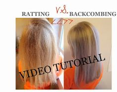 How to properly backcomb - Beyoutiful by Jade: Tips, Tricks & Tutorials