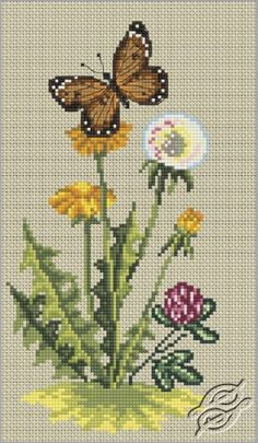 Dandelion - Cross Stitch Kits by RTO - C176