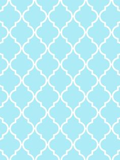 Make it...Create--Printables & Backgrounds/Wallpapers: Quatrefoil...Aqua & White