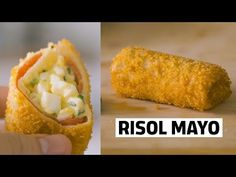 RESEP RISOL MAYO. ENAK. SERIUS. - YouTube Indonesian Desserts, Indonesian Food, Snack Recipes, Cooking Recipes, Snacks, Cooking Ideas, Mantu Recipe, Wassail Recipe, Eat Happy
