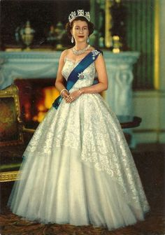 """postcardtimemachine:  September 9, 2015 """" Today Queen Elizabeth becomes the longest reigning British Monarch in history. When you've been on the throne for 63 years, you find yourself on vintage postcards. """""""