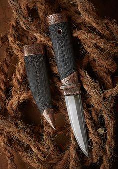 Serge Vodopyanov hand made knifes