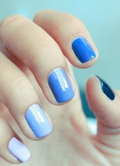 http://www.vashi.com/blog/2014/10/22/manicures-match-engagement-ring/  #blue #nails #mani #manicure