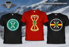 Compañía de Esquiadores Escaladores de Viella. Camisetas Militares. www.paracamisetas.com