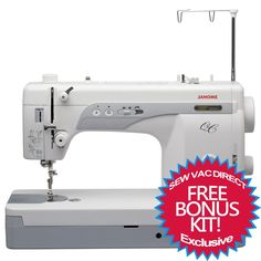 Sew Vac Direct  - Janome 1600P-QC High Speed Sewing and Quilting Machine, $999.00 (http://www.sewvacdirect.com/janome-1600p-qc-high-speed-sewing-and-quilting-machine/)