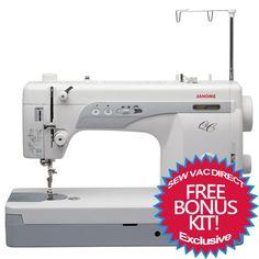 Janome 1600P QC Professional Sewing Machine | Janome