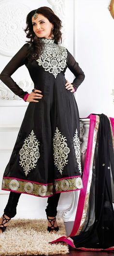 #MonicaBedi #Bollywood# Latest black frock 2014.. Order online now