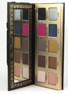Too Faced Pretty Rebel Eyeshadow Palette Review, Photos, Swatches