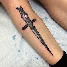 Gem-handled dagger by Korperkunst