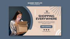 Shop Banner Design, Banner Online, Food Banner, Sale Banner, Creative Photos, Banner Template, Psd Templates, Business Design, Concept