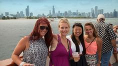 Chicago, Aug 20: 2016 Chicago Air & Water Show Show Yacht Party