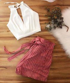 SÓ na loja @brasemfoco . . . . #atacado #atacadobras #bras #atacadosp #atacadosaopaulo #vautier #vautierpremium #shoppingvautier… Warm Outfits, Cute Summer Outfits, Short Outfits, Classy Outfits, Chic Outfits, Trendy Outfits, Teen Fashion Outfits, Outfits For Teens, Fashion Dresses