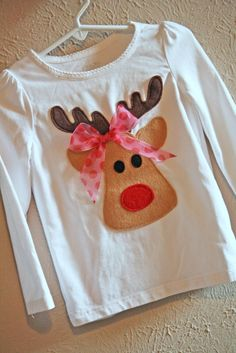 I have been crafting Christmas outfits for several little girls I know and wanted to make sure that my daughter had something cute as well. ...