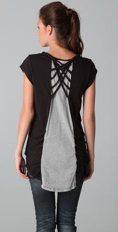 sass & bide Embrace the Change Tee $198?! DIY inspiraTion!