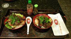 Bulgogi short ribs over noodles