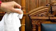 HOW TO CLEAN WOODEN FURNITURE- TO REMOVE DIRT AND GRIME Cleaning Wood Furniture, How To Clean Furniture, Wooden Furniture, Diy Cleaning Products, Cleaning Hacks, Remove Shellac, Best Cleaner, Furniture Restoration, Types Of Wood