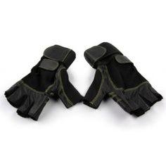 Rękawice tego typu służą do ćwiczeń z dużymi ciężarami, gdzie występuje wysokie ryzyko kontuzji nadgarstków. Rękawice wyposażone dodatkowo w wzmocnienia, które usztywniają nadgarstki i wspomagają ścięgna, dzięki czemu minimalizują ryzyko kontuzji.