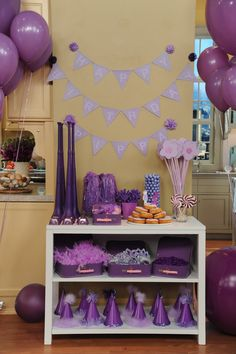 Mj's favorite color is purple - maybe its a purple princess party