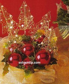 Como hacer un árbolito de navidad ~ Solountip.com