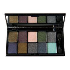 Amazon.com: NYX Cosmetics Eye Shadow Palette 10 Color, Super Model, 0.49-Ounce: Beauty