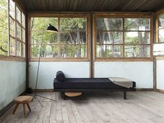The ultimate eco minimalist porch. Gorgeous.