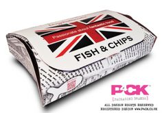 The Liverpool City Council wants to ban customers from eating fish and chips wrapped in paper packaging Takeaway Packaging, Chip Packaging, Smart Packaging, Food Packaging Design, Packaging Solutions, Beverage Packaging, Paper Packaging, Fish And Chips Takeaway, Food Pillows