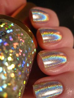 Sally Hansen Crystal Ball- IM ALL ABOUT HOLOGRAPHIC ACCESSORIES RIGHT NOW! GOTTA HAVE THE POLISH-JGS