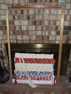 How to Make and Use a Floor Loom