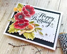 Hello there! It's been ages since I've participated in a Papertrey Ink Blog Hop but this month I was determined to play along. Iabso...