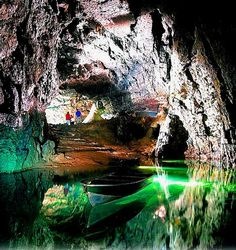 Wookey Hole caves , near Wells Somerset, England. Everyone should visit these caves, breathtaking! The witch used to terrify me as a child!