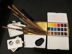 Vintage D. Smith Watercolor Box - WetCanvas