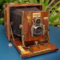 Sanderson Tropical Field Plate Camera 1905