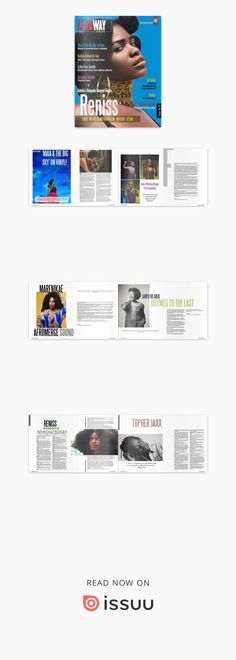 Afroway magazine issue 01  Afroway Magazine, is our new medium that offers select stories, interviews and features from great artists from across the world with specific focus on Africa. #music #art #magazine #new #issue #entertainment
