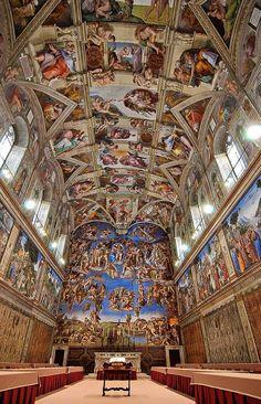 Michelangilos Sistine Chapel