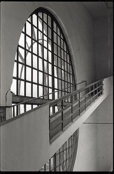 Bell Tower Staircase, 1928-32    Church of the Sacred Heart Vinohrady  Prague, Czech Republic  Architect Jože Plečnik (1872-1957)
