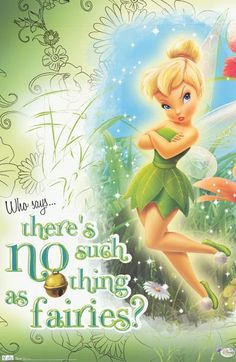 A fun poster of Disney's Tinker Bell who reminds you that fairies are definitely real! Perfect for kids rooms. Fully licensed. Ships fast. 22x34 inches. Need Poster Mounts..? bm9606