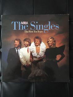 ABBA The Singles Thw First Ten Years Original Vinyl Album by NicholasAllSorts on Etsy https://www.etsy.com/uk/listing/497354852/abba-the-singles-thw-first-ten-years