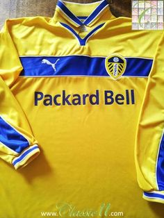 992d6f48c1d Relive Leeds United s 1999 2000 season with this original Puma 3rd long  sleeve football shirt