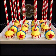Toy Story Jessie Cake Pops