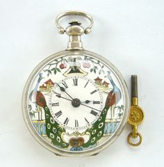 Enthusiastic Ever Swiss Pocket Watch Shield Badge Law Enforcement Theme Pocketwatch Watches, Parts & Accessories
