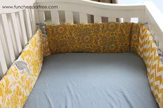 DIY nursery bedding!!