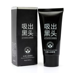 Black Mask Blackhead Masks Remover Facial Peel Off Deep Cleansing