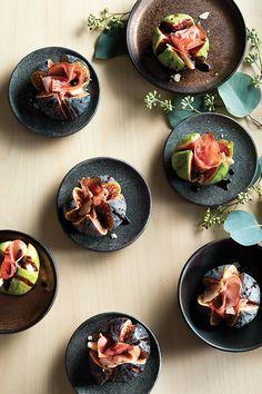 Figues au parmesan et au prosciutto - Châtelaine