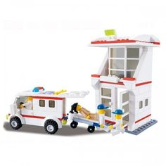 Hospital and Ambulance - Lego Compatible