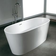 Bañera Solid Surface MILANO 156 cm http://www.entornobano.com/collections/baneras-solid-surface/products/banera-solid-surface-milano-156-cm