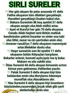Sırlı dualar Allah Islam, Islam Quran, Need To Know, Prayers, Ads, Messages, Life, Rage, Prayer